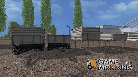 Модуль пак для ГАЗ 35071 for Farming Simulator 2015