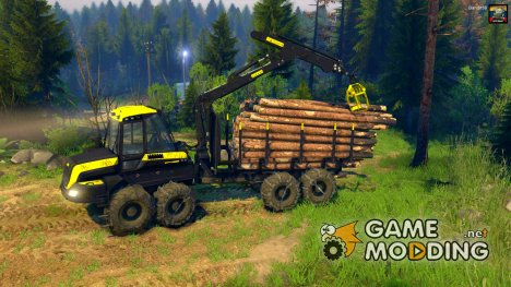 Forwarder Ponsse Buffalo 8x8 for Spintires 2014