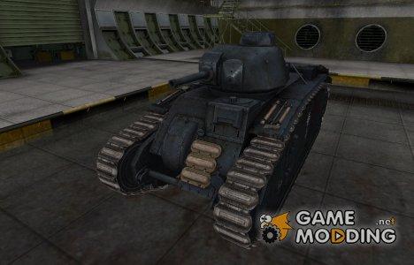 Исторический камуфляж PzKpfw B2 740 (f) для World of Tanks