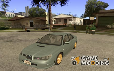 Subaru Impreza WRX STI-Street Racing for GTA San Andreas