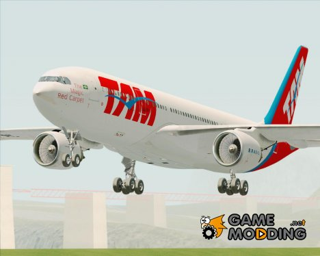 Airbus A330-200 TAM Airlines (PT-MVQ) for GTA San Andreas