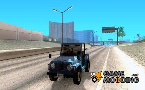 Suzuki Jimny for GTA San Andreas