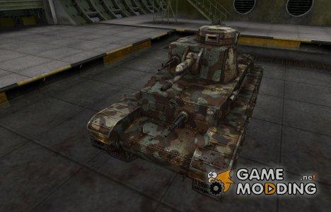 Горный камуфляж для PzKpfw 35 (t) for World of Tanks