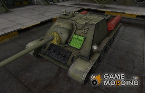 Зона пробития СУ-85 для World of Tanks