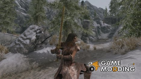 The Anextrium Greatsword for TES V Skyrim