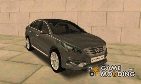 Hyundai Sonata Turbo 2.0 2015 для GTA San Andreas