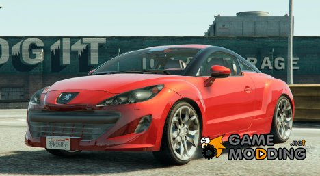 2010 Peugeot 308 RCZ for GTA 5