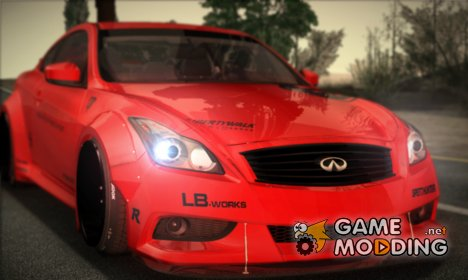 Infiniti G37 Coupe Liberty Walk LB Performance для GTA San Andreas