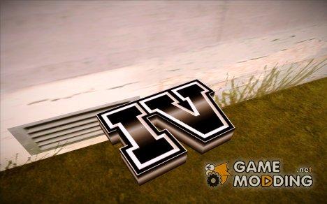 Логотип GTA 4 для GTA San Andreas