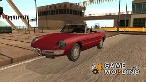 Alfa Romeo Spider Duetto '66 for GTA San Andreas