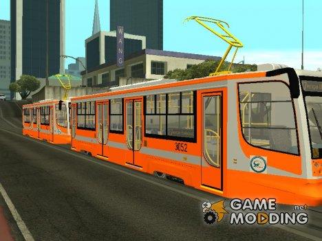 Трамвайный вагон 71-623 for GTA San Andreas