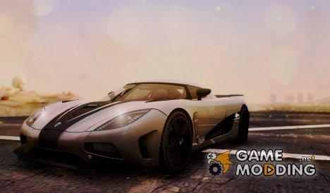 Koenigsegg Agera R 2014 for GTA San Andreas