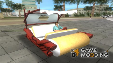 Flinstones Car for GTA Vice City