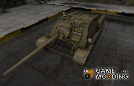 Шкурка для СУ-85 в расскраске 4БО for World of Tanks
