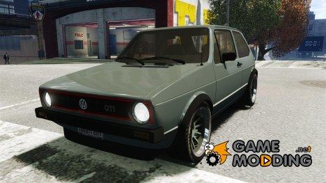 Volkswagen Golf GTI MK1 для GTA 4