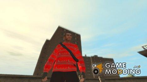 Новогодний свитер для GTA 4