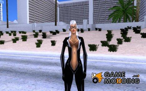 Чёрная Кошка HQ для GTA San Andreas