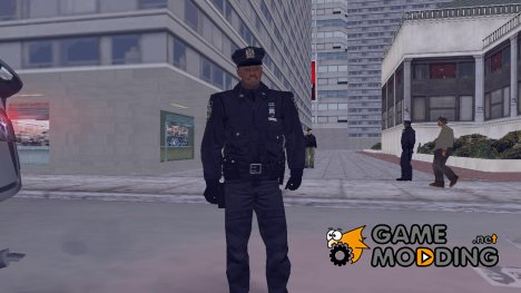 Alone In The Dark cop для GTA 3