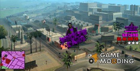 Hud Ballas для GTA San Andreas