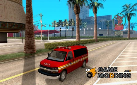 Chevrolet Express Special Operations Command для GTA San Andreas