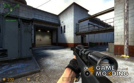 Barrett M82A1 .50BMG V.2 for Counter-Strike Source