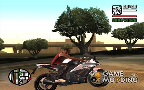 Kawasaki Ninja ZX-10R for GTA San Andreas