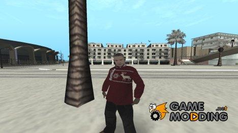 Новогодний агент FBI для GTA San Andreas