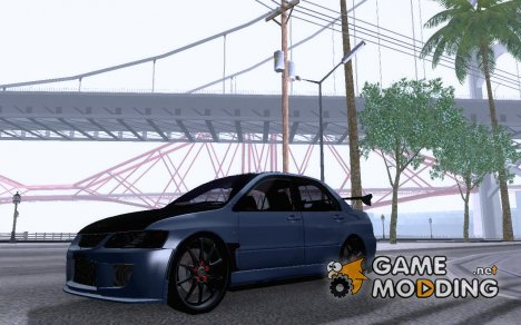 Mitsubishi Lancer Evolution 9 Custom для GTA San Andreas