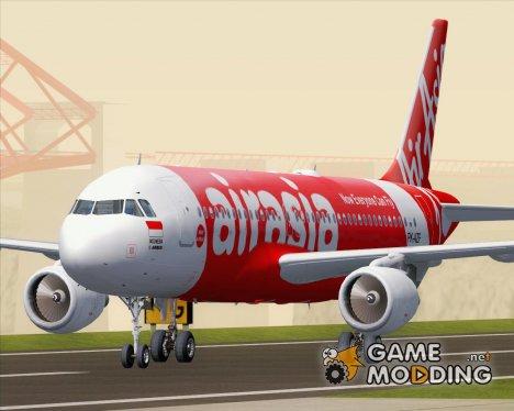 Airbus A320-200 Indonesia AirAsia (PK-AZF) для GTA San Andreas
