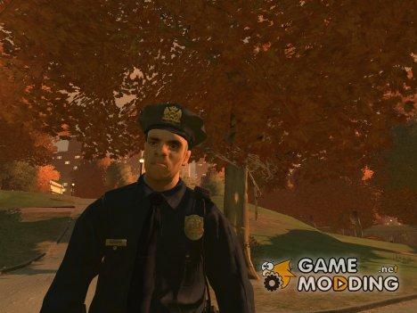Полицейская униформа из GTA V для GTA 4