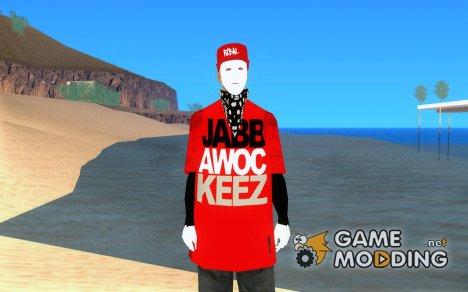 JabbaWockeeZ Skin for GTA San Andreas