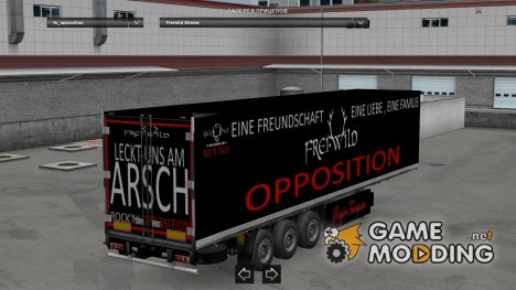 Freiwild TourTruck 2015 Trailer V 1.0 for Euro Truck Simulator 2