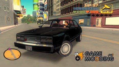 Такси Романа из GTA 4 для GTA 3