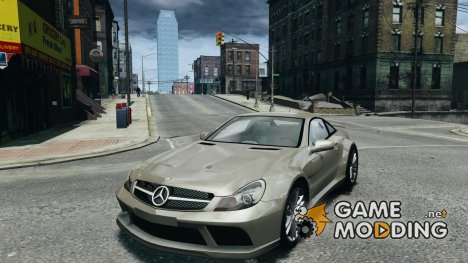 Mercedes-Benz SL65 AMG Black Series for GTA 4