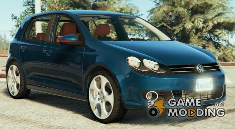 Volkswagen Golf Mk 6 v2 for GTA 5