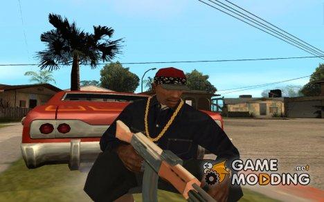 Красная кепка с банданой for GTA San Andreas