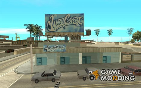 west coast coustoms для GTA San Andreas