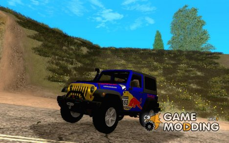Jeep Wrangler Red Bull 2012 for GTA San Andreas
