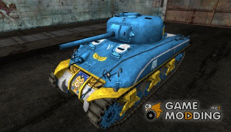 Шкурка для M4 Sherman (Вархаммер) for World of Tanks