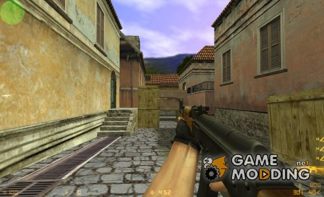 Ak47 Silver v1 для Counter-Strike 1.6
