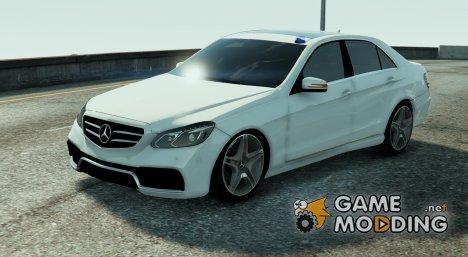 Mercedes Benz E63 AMG Kriminalpolizei 1.0 для GTA 5