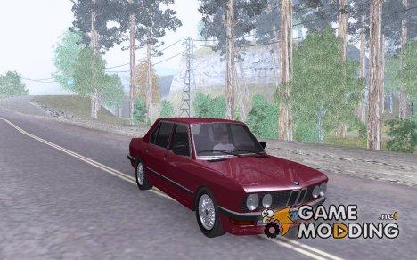 BMW E28 525e ChromeLine - Stock для GTA San Andreas