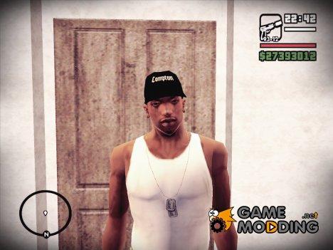 Compton Кепка v.2 for GTA San Andreas