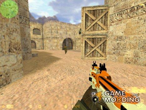 """Пак оружия с раскраской """"Азимов"""" для Counter-Strike 1.6"""
