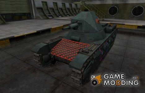 Контурные зоны пробития AMX 38 для World of Tanks