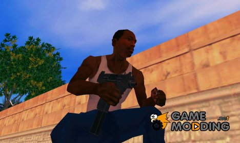 Mikro UZI из GTA IV for GTA San Andreas