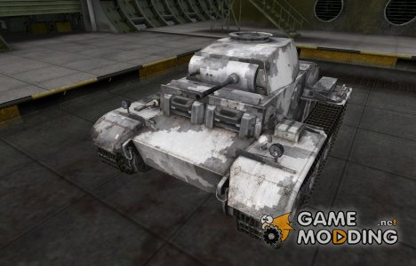 Камуфлированный скин для PzKpfw II Ausf. J for World of Tanks