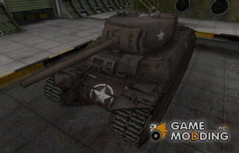 Исторический камуфляж M6 для World of Tanks