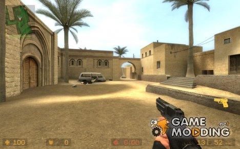 Black²  P228 Black V2 для Counter-Strike Source