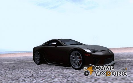 "Lexus LFA 2010 ""AutoVista"" for GTA San Andreas"